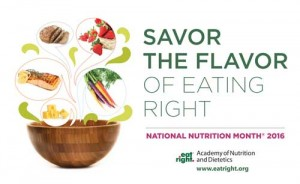 National Nutrition Month Peoria AZ